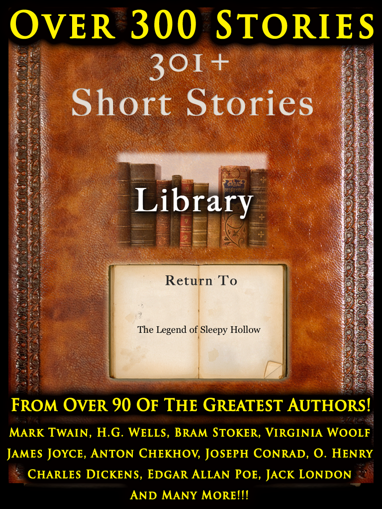 301+ Short Stories for iPad  Mark Twain, Edgar Allan Poe, James Joyce, Jack London, Bram Stoker, H.G. Wells and more