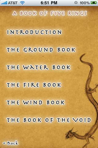 Complete Text Includes the complete Book Of Five Rings Text