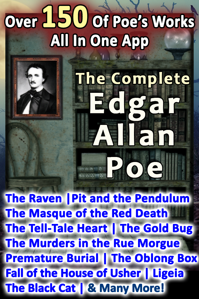The Complete Edgar Allan Poe App for iPhone, iPod Touch, and iPad